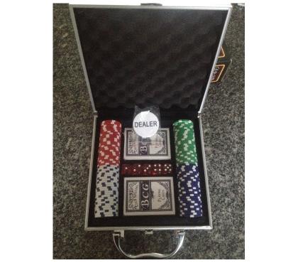 Fotos para Jogo De Poker Com Maleta,Na Caixa!