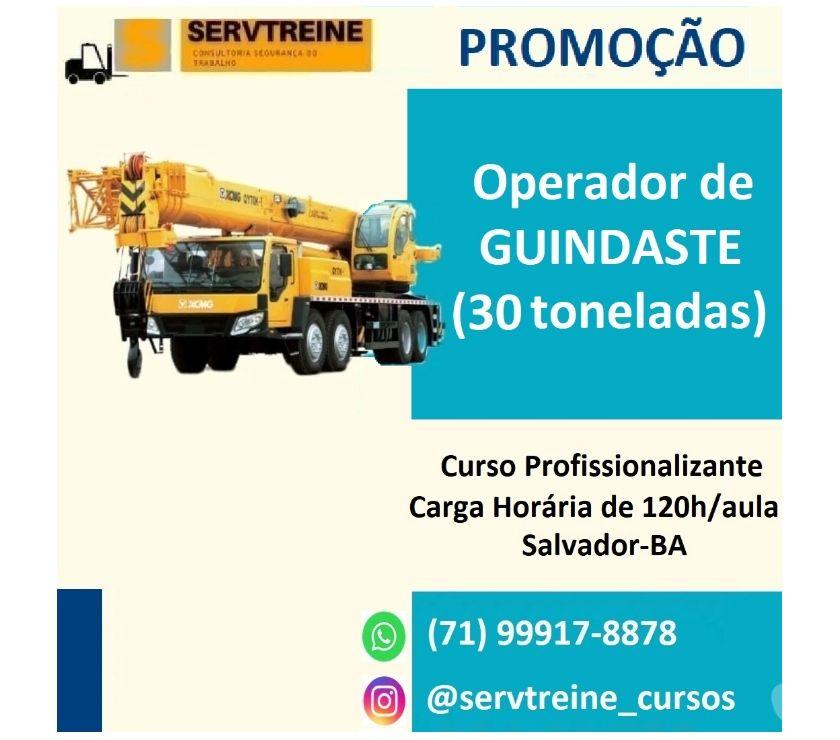 Capacitação profissional Salvador BA Centro de Salvador - Fotos para CURSO PARA OPERADOR DE GUINDASTE