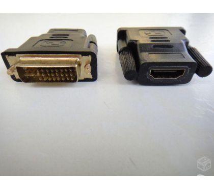 Fotos para Adaptador DVI Macho X HDMI Fêmea