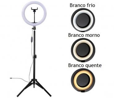 Fotos para Ring Light 10 Polegadas Tripe 2 metros Suporte de Celular 25