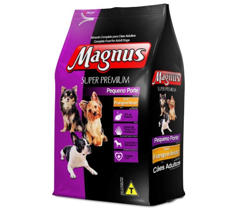 Fotos para Ração Magnus Super Premium Cães Adultos Pequeno 10,1 Kg