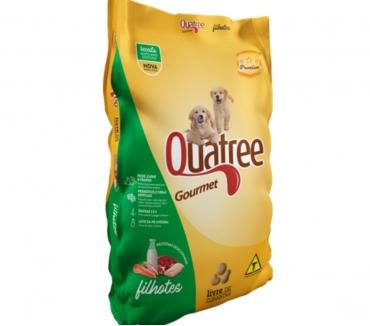 Fotos para Ração Quatree Gourmet Filhotes - Sem Corantes - 25 kg