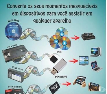 Fotos para Transforma fita VHS (Cassete) para DVD, Pendrive, Fortaleza