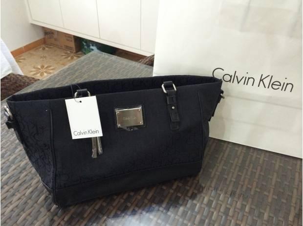 Bolsa De Festa Calvin Klein : Bolsa calvin klein jacquard city pr nova ubatuba