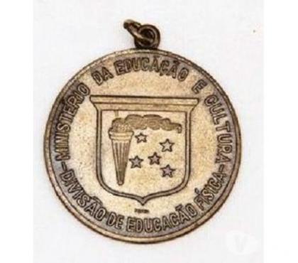Fotos para Medalha Esportiva Mec Divisao de Educaçao Fisica - Anos 40