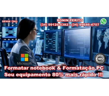 Fotos para Formatar notebook & formatação pc