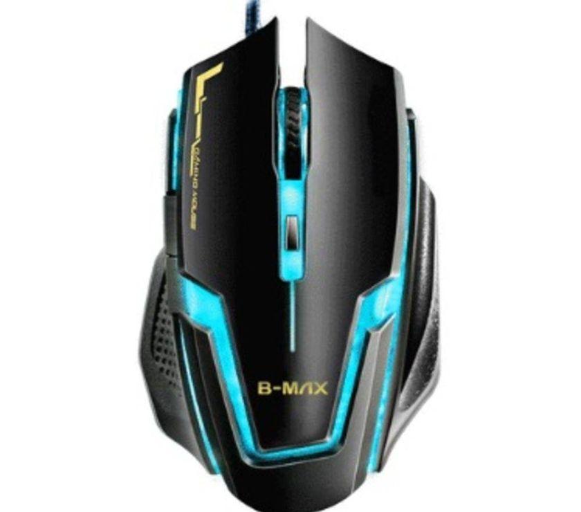 Fotos para Mouse Gamer Óptico B-MAX Gamer 6 Botões USB 3200 DPI A9 Leds