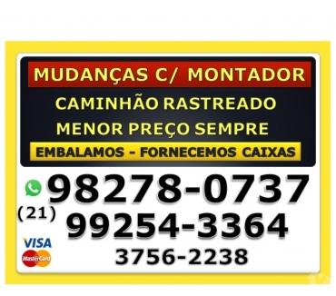 Fotos para MUDANÇAS C MONTADOR- TEMOS CAIXAS- AC.CARTÕES-MENOR PREÇO!!