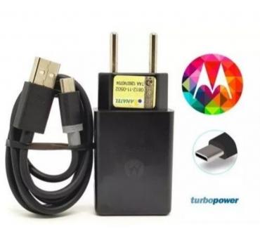 Fotos para Carregador Motorola Tipo C Turbo Power 15w Quick Charger