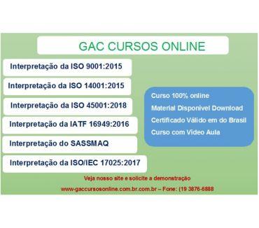 Fotos para Curso online Auditor Interno da Norma ISO 9001:2015