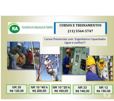 Fotos para Cursos NR-35 Trabalho Altura Bairro Mooca Zona Leste de S.P