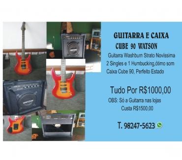 Fotos para Guitarra Washburn mais Cube 90