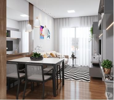 Fotos para 2 quartos com varanda prox. ao Top Shopping - Use seu FGTS