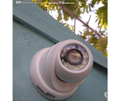 Fotos para câmera de segurança, CFTV, monitoramento, cerca de arame.