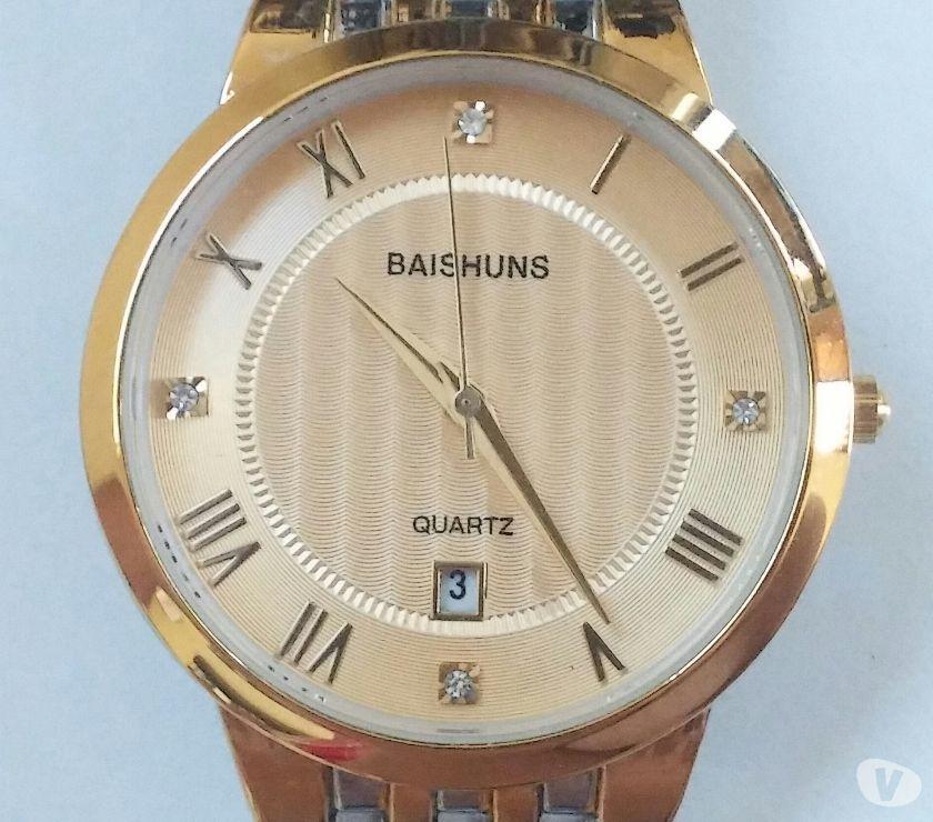 Fotos para Relógio Masculino Luxo Baishuns 1010