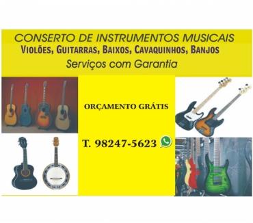 Fotos para Conserto de instrumentos musicais