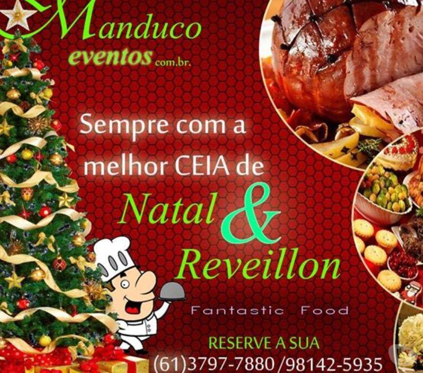 Salgadinhos Brasilia DF Aguas Claras - Fotos para Buffet para Festa de Confraternização e Ceias de Natal