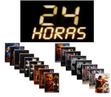 Fotos para Série 24 horas 8 temporadas completas em caixa original
