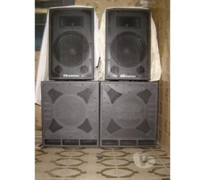 Caixas de Som Ativas e Passivas Ciclotron, usado comprar usado  Belo Horizonte MG