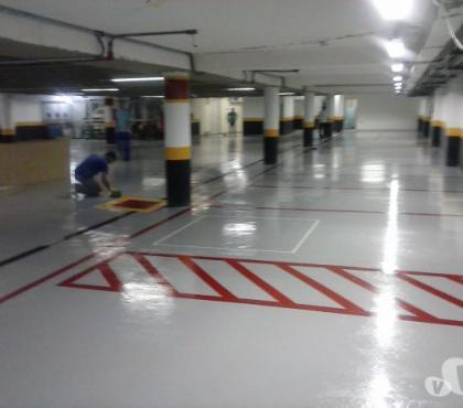 Fotos para Pinturas e Sinalização de Estacionamentos e Garagens