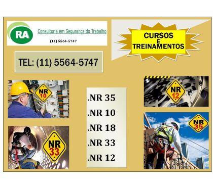 Fotos para TREINAMENTOS E CURSOS NR 35 e NR 10 ZONA SUL - Confira!!!