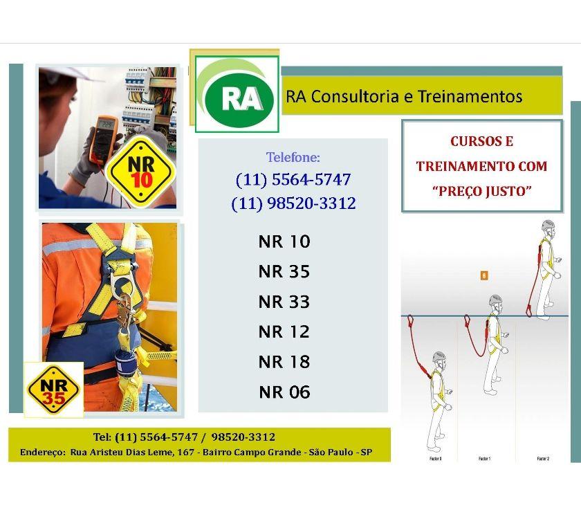 Fotos para Curso NR 10 Bairro BUTANTÃ e PINHEIROS NR 10 e 35 - LIGUE!
