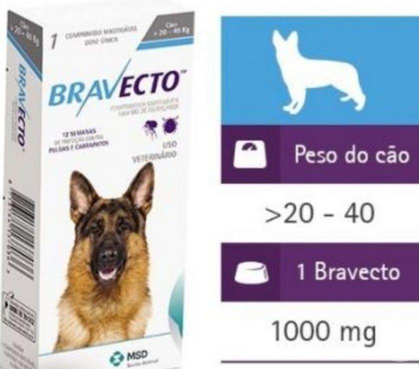 Fotos para Bravecto para Cães de 20 a 40kg