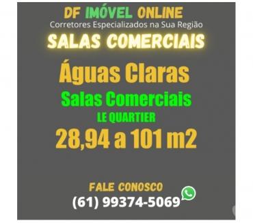 Fotos para Le Quartier Águas Claras Salas Comerciais apartir de 128000