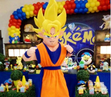 Fotos para Goku Dragon Bal Cover personagens vivos