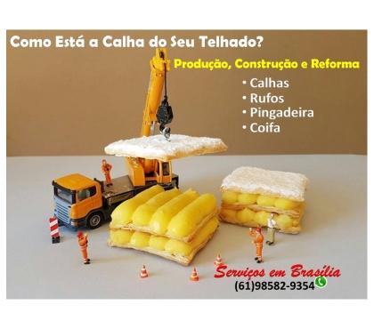 Fotos para Telhado, Calhas, Rufos, Pingadeira, Reforma de Telha, etc