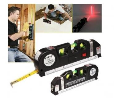 Fotos para Nível A Laser Com Trena 2.50 metros Régua Level pro 10