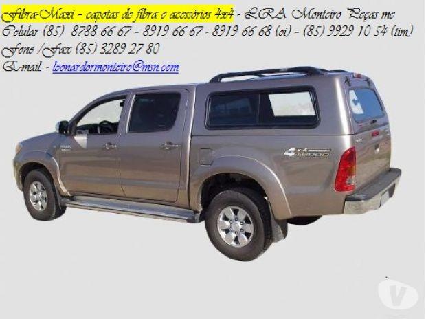 Acessórios Automóveis Porto Velho RO - Fotos para RO - CAPOTA DE FIBRA P TODAS AS PICAPES