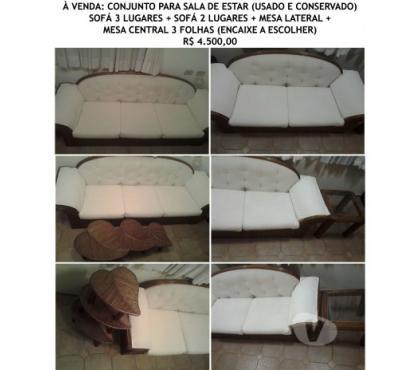 Fotos para Conjunto para sala de estar Rattan (usado e conservado)
