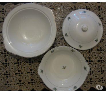 Fotos para Antigo jogo de jantar porcelana Nadir (no estado)