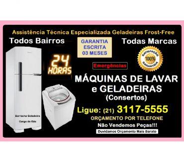 Fotos para Conserto 24hs Geladeira e Máquina Lavar no Méier e Cachambi.