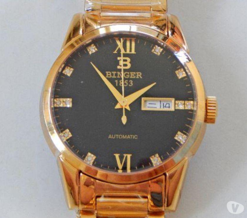 Fotos para Relógio de Luxo Suíço Binger 1128