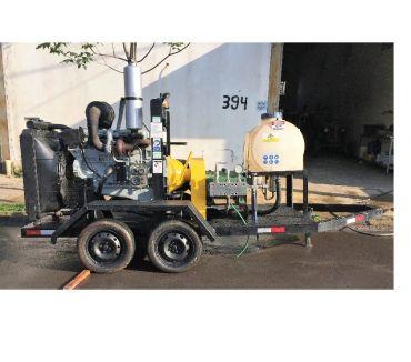 Fotos para locação da bomba de hidrojato L120DT 15kpsi