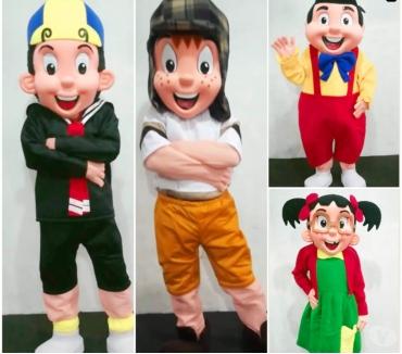 Fotos para Cover personagens vivos Chaves turma para festa infantil