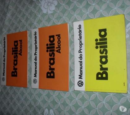 Fotos para Manual Proprietario Brasilia Original Varios Anos -
