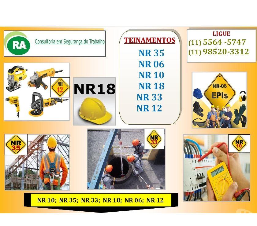 Outros cursos Sao Paulo SP Capela do Socorro - Fotos para Curso Presencial Nr-10, Nr-12, Nr-33, Nr-35 Zona Sul, Oeste