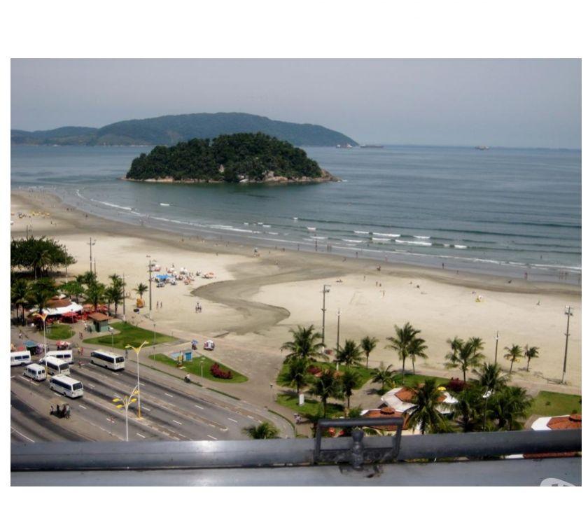 Aluguel temporada Sao Vicente SP - Fotos para SV004 - Edifício Japuí - frente ao mar e com linda vista