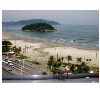 Fotos para SV004 - Edifício Japuí - frente ao mar e com linda vista