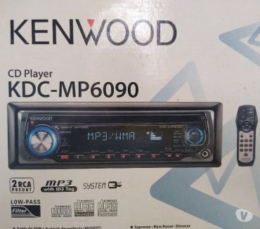 Fotos para Venda CD Player Marca Kenwood KDC-MP6090