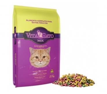 Fotos para Ração Vita Gato Mix 25 Kg - R$ 95,00