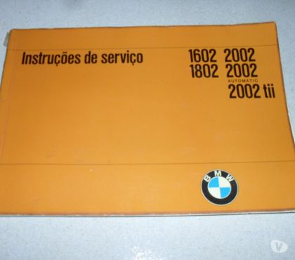 Fotos para Manual Proprietario Bmw 2002 Tii 1802 1602 Portugues Raro