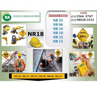 Fotos para Taboão da Serra NR 10- 160,00 NR 35- 100,00 -Taboão NR 10