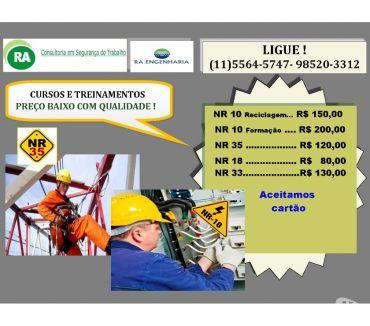 Fotos para Curso NR-35 presencial Zona Sul Santo Amaro Interlagos R$120