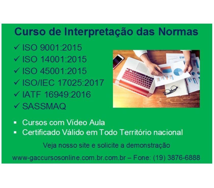 Fotos para Curso online Interpretação da Norma ISOIEC 17025:2017