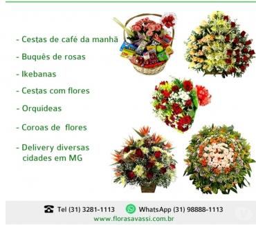 Fotos para Contagem Floricultura flores, cesta de café, coroa Contagem