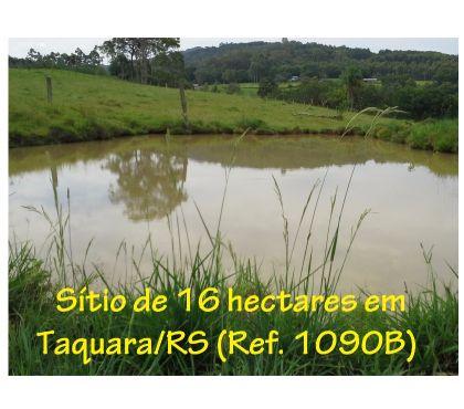 Fotos para Sítio de 16 hectares em Taquara, RS, com casa nova e açude